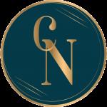 Logotivo CN azul y dorado